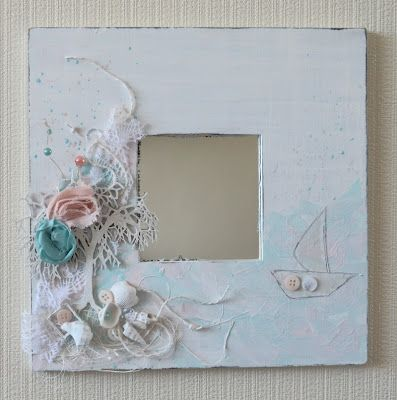 altered picture frames nautical