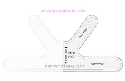dog vest harness free patterns