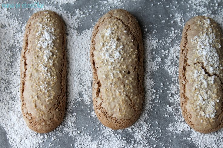 J'ai préparé ces biscuits pour réaliser un entremet aux 3 chocolats. Les biscuits sont bien meilleurs que ceux que l'on trouve dans le commerce, j'ai été surprise par la simplicit…