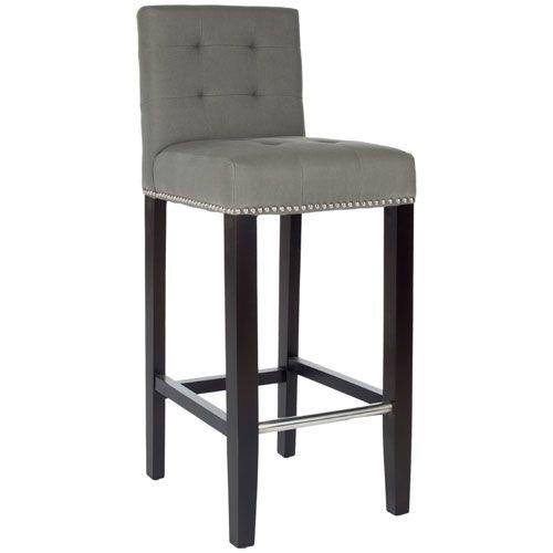 Thompson Bar Stool Safavieh Home Furniture Bar Height (28 To 36 Inch) Bar Stools Kitchen &