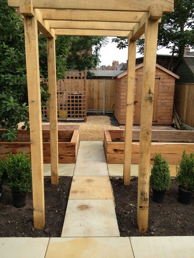 Narrow Raised Garden Beds