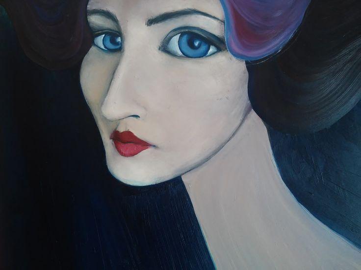 #art #painting #portrait #artforsale