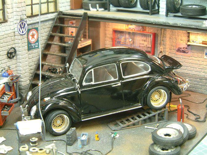 MODEL CARS>> DIORAMA HEAVEN — Speedhunters best dub workshop diorama!