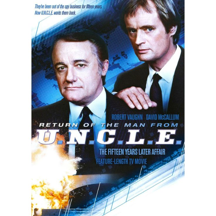 Return of the man from uncle (Dvd)