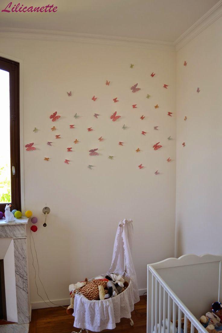 Lilicanette: Envolée de papillons