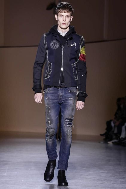 Diesel Black Gold Menswear Fall Winter 2015 Milan