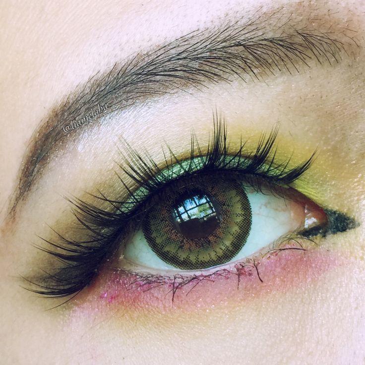 Contrast/makeup/asian/monolid
