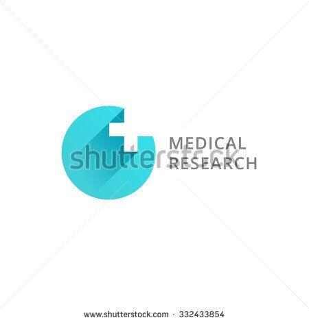 Cross plus medical logo icon design template elements - stock vector