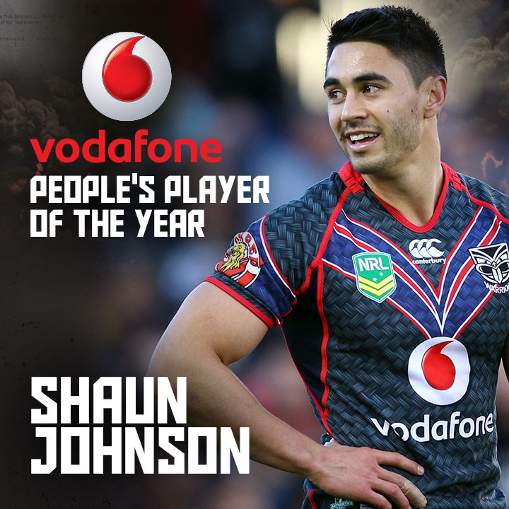 Congratulations to 2013 Vodafone People's Player of the Year Shaun Johnson