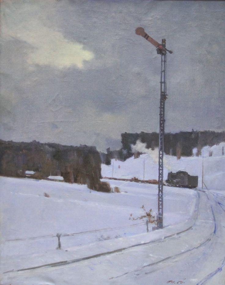 """Нисский Георгий Григорьевич (г.р.1903), """" Семафор""""  1950"""
