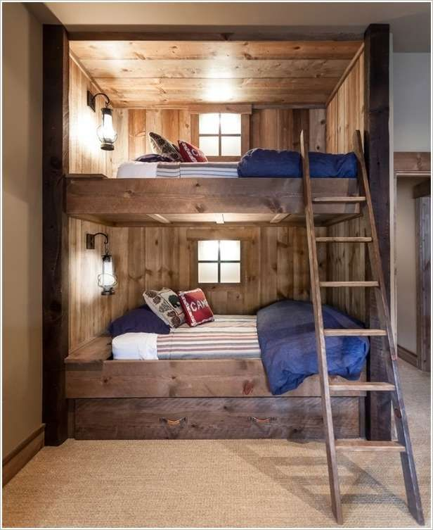 Best 25 scandinavian bunk beds ideas on pinterest for Boy bunk bed bedroom ideas