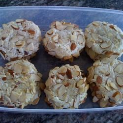 Italian Almond Cookies II - from Allrecipies.com. The person that submitted this recipe used a mixer instead of mixing with her hands.