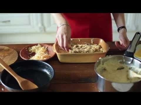 Грибная лазанья [Рецепты Bon Appetit] - YouTube
