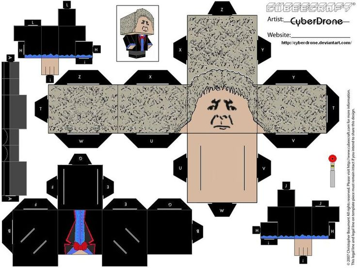 Cubee - 3rd Doctor by CyberDrone.deviantart.com on @deviantART