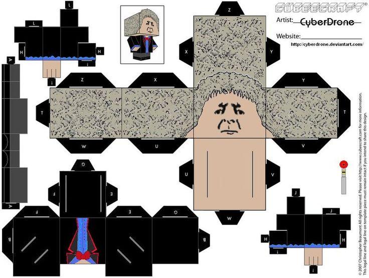 Cubee - 3rd Doctor by CyberDrone.deviantart.com on @deviantART