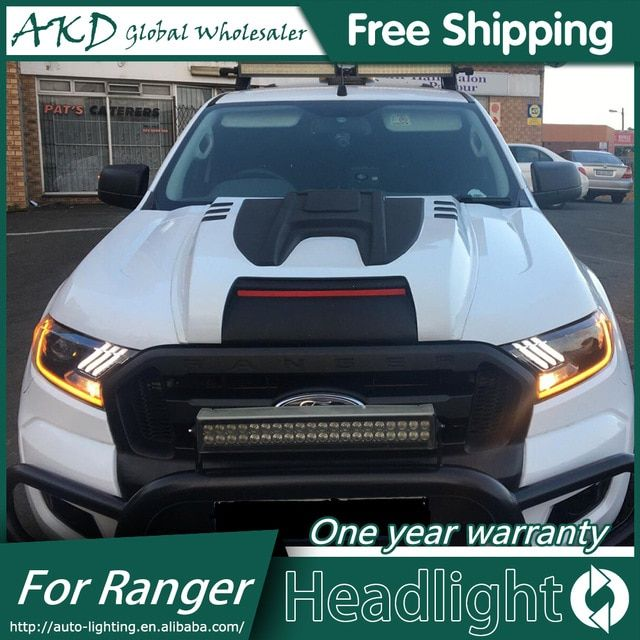 Akd Car Styling Head Lamp For Ford Ranger Mustang Headlights Led