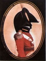 Silhouette of either Thomas Pearson,  or Major Sir T. Picton, RWF c.1815