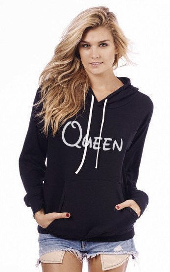 QUEEN - Hoodie by SWEETtoothTEES on Etsy