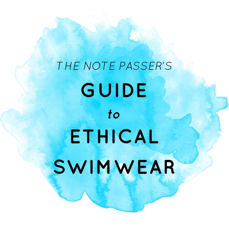 Guide to Ethical Swimwear