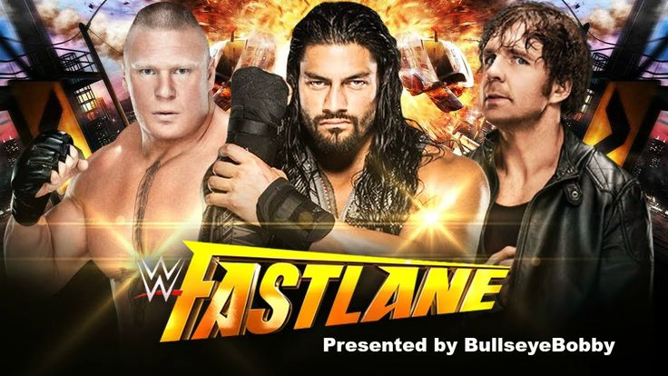 WWE FASTLANE 2016 PREVIEW AND PREDICTIONS
