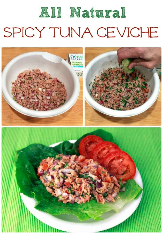 Tuna Salad Spicy Tuna Ceviche |Sassy Girlz Blog #Paleo #CleanEating