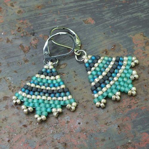 http://www.gianelle.beadforum.cz/ would be cute earrings