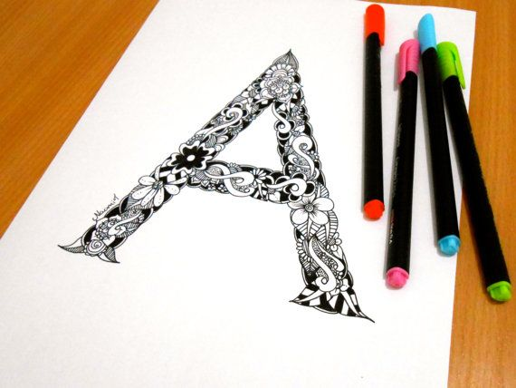 Alphabet Coloring Pages Download : Best alphabet series images coloring pages