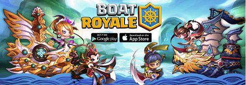 Boat Royale, game seru dari Gamespark yang siap mendarat di Android dan iOS