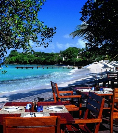 Cotton House hotel in Mustique