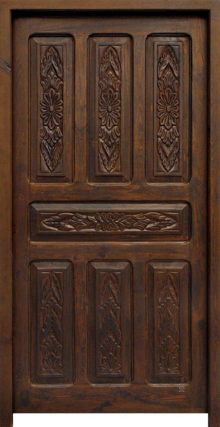 conely puerta de madera rusticdecor - Puertas De Madera Antiguas