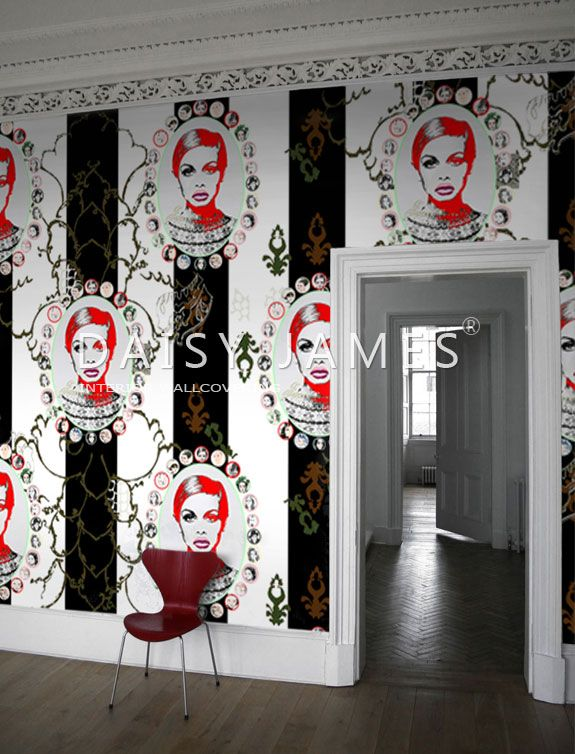 DAISY JAMES wallcover The Medallion