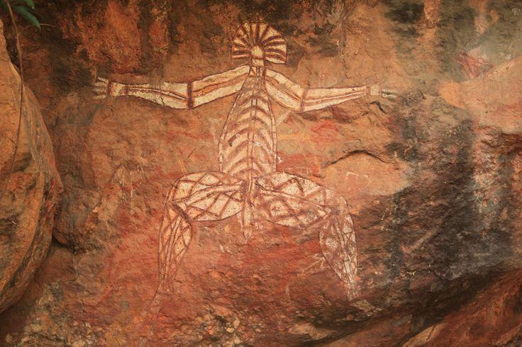 Australia rock art - Nabulwinjbulwinj rock art at Nourlangie Rock Aboriginal rock art at Nourlangie Rock in Kakadu National Park Northern Territory Australia
