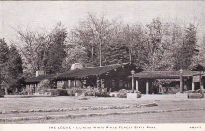 Illinois The Lodge Illinois White Pines Forest State Park