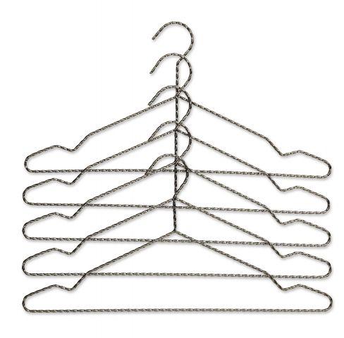Twisted grey anthracite HAY coat hanger