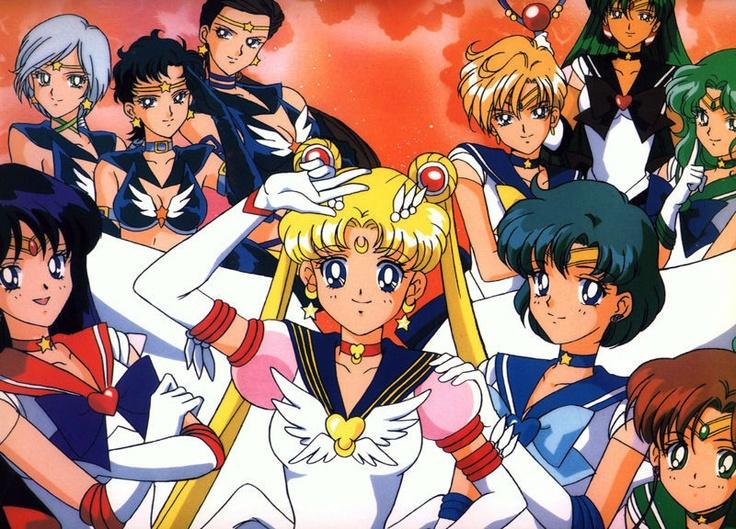 ¡Sailor moon completa! Me emociono cada vez que veo el final de la 1 temporada...