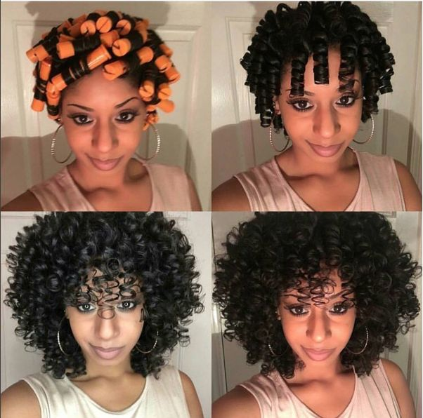 Sensational 1000 Ideas About Perm Rods On Pinterest Natural Hair Hair And Short Hairstyles For Black Women Fulllsitofus