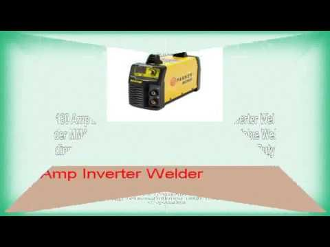 160 Amp Inverter Welder- MMA Portable Welding Machine – 60% Duty Cycle – Welders For Sale – UK