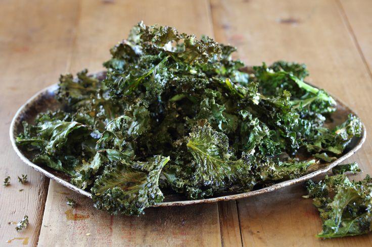 Crispy Parmesan Kale Chips - Maggie Beer