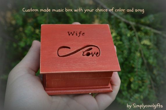 Welcome to Simplycoolgifts!  THIS IS A CUSTOM MADE WIND UP MUSIC BOX! IT HAS THE WIND UP KEY ON THE BOTTOM, YOU NEED…