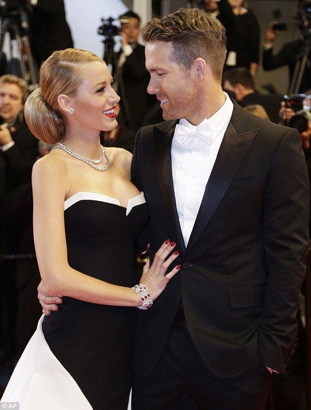 Can't keep his eyes off her! Ryan Reynolds was clearly smitten by wife Blake Lively at Cannes