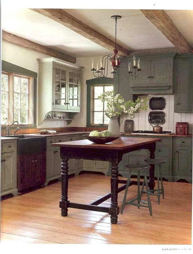 030 Cottage Kitchen Cabinets Ideas Farmhouse Style