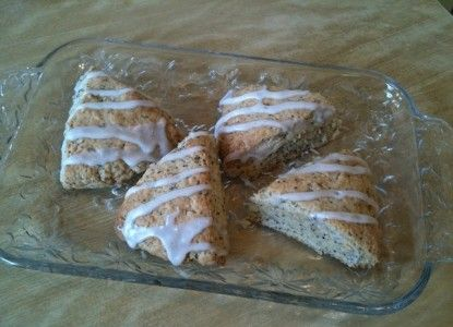 Recipe For Farmers Guest House Signature Lemon-Poppy Seed Scones | Bed and Breakfast Inns | BBOnline.com