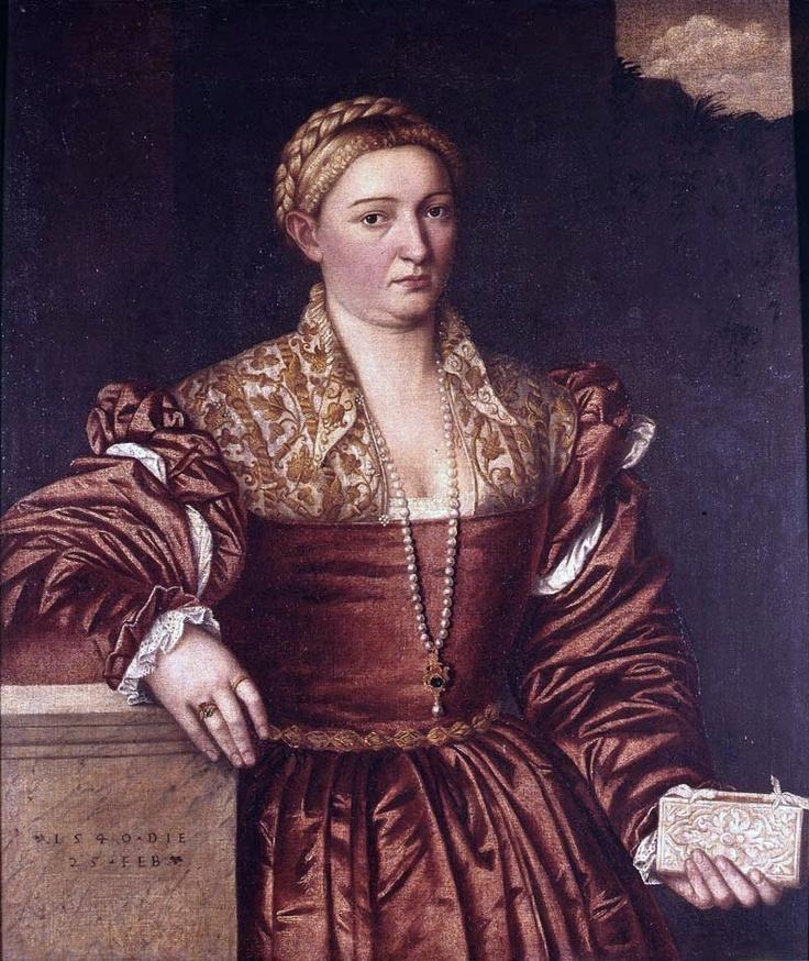 1540 Bernardino Licinio (1489-1565) Portrait of a Lady