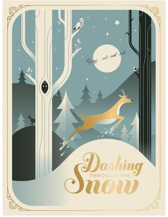 25 Beautiful Business Christmas Cards