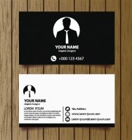 7 best business card design ideas images on pinterest business classic modern business cards vector reheart Images