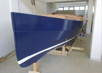 Cape Henry 21 lapstrake plywood boat plans for amateur builders