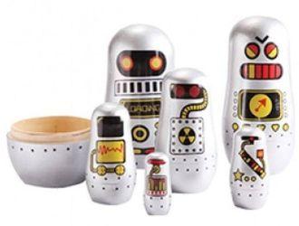KIDS ADVENTURE BABUSHKAS ROBOTS