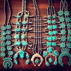 ♥these necklaces. I wear a lot of turquoise rings and bracelets