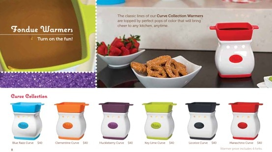 Velata Curve Warmers: Curves Collection, Velata Fondue, Velata Curves, Fondue Collectionsc, Chocolates Fondue, Curves Warmers, Collectionsc Curves, Fondue Warmers, Velata Chocolates