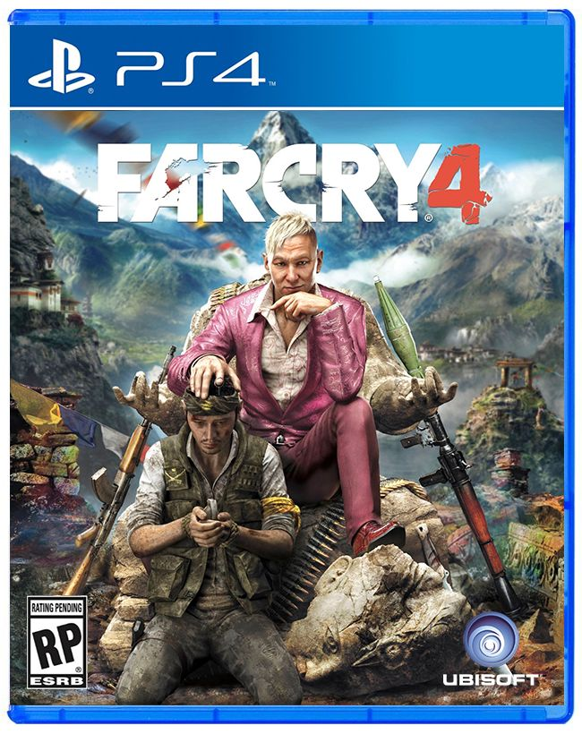Farcry 4 (Game Cover PS4) | Game Cover | Pinterest | PS4 ...